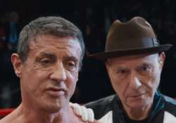 stallone was reluctant to star in grudge match