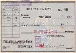 412 cheque that bought superman sold for 160 000