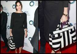 courtney cox s love for striped tote bag