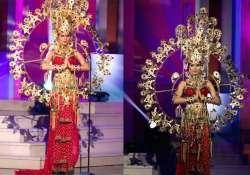 miss universe 2014 miss india noyonita lodh praised for her