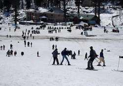 himachal turns into skiers paradise after record snow