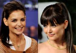 katie holmes always wanted to have red locks