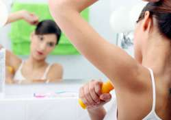 adverse effects of deodorants on your armpits see pics
