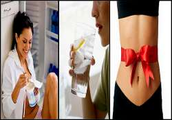 winter weight loss tip try out water and curd to cut out