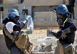 chemical weapons inspectors in syria miss deadline