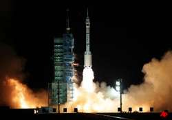 china sends unmanned spacecraft for first space docking