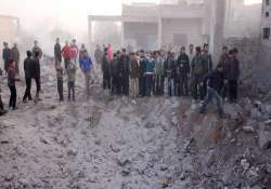 eight killed in syrian attacks