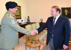 gen sharif shifted army from india centric position daily
