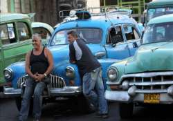havana s classic taxis get a taste of competition