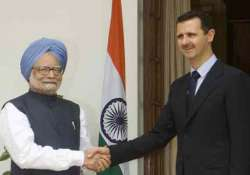 india s role sought to resolve syrian crisis
