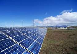 china starts building its largest solar plant