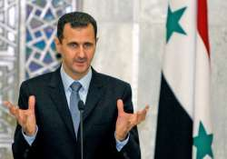 assad welcomes iran s support to syrian reconstruction