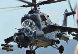 india s mi 35 helicopters ready for 1st battle in