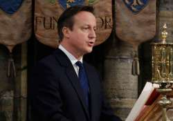 british pm david cameron names his first all conservative