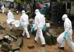 ebola transmission from dead patients possible
