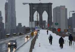 snowstorm travel ban lifted in new york