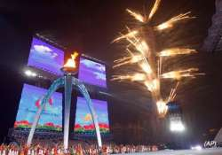 spectacular fireworks bring curtains down on asian games