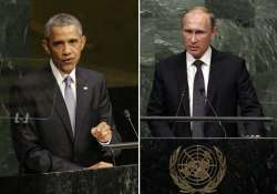 war of words between barack obama vladimir putin over