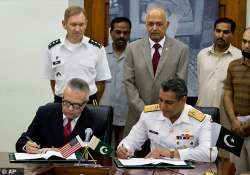 pakistan us sign mou on sending supplies to troops