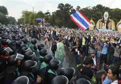 police fire tear gas at protesters in bangkok