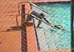 watch terrifying moment children electrocuted in swimming