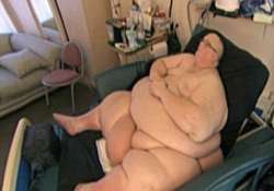 world s former fattest man paul manson falls in love sheds