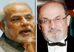 worried modi will run a bully government says salman rushdie