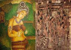 a glimpse of contemporary indian art mural paintings