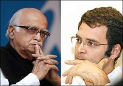 advani backs rahul for taking up farmers cause