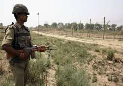 army lodges strong protest with pak over border firing