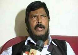 athawale would become dy cm if sena bjp rpi came to power