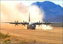 india dares china iaf lands super hercules plane on