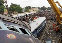 chidambaram suggests choppers to reach railway accident