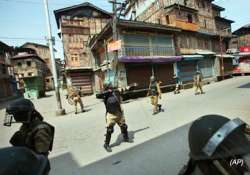 curfew clamped in srinagar restrictions imposed in the