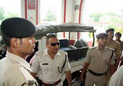 3 rifles 300 bullets destroyed by fire at patna ssp s house
