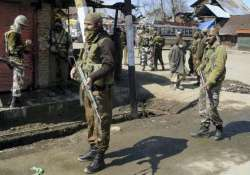 two crpf personnel killed in militant attack in j k