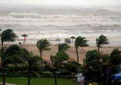 hudhud to take very severe turn in next 12hrs imd
