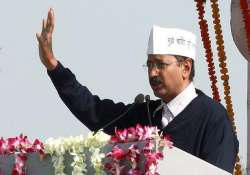 kejriwal leads cabinet officials on pledge to protect nature