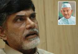naidu slams centre for restrictions on anna s proposed fast