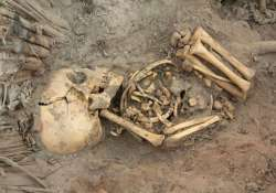 policeman arrested for human sacrifice skeletons recovered