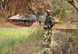 security stepped up for polling in maoist hit areas in