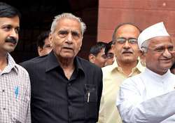 shanti bhushan only key team anna member on donors list
