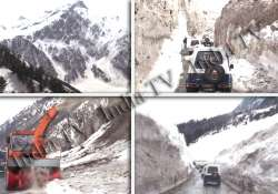 srinagar sonmarg road reopens after four months