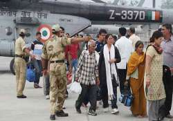 uttarakhand 134 stranded tourists flown to gujarat by