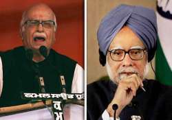 advani targets pm on lokpal questions conspiratorial silence