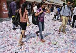 dusu elections student leaders of abvp nsui cyss clash on