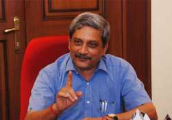 defence agents to be legalised by mid february parrikar