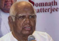 not returning to cpi m on health grounds somnath chatterjee