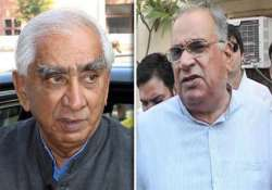 jaswant supporter accuses sonaram of hiding facts in