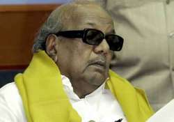 karunanidhi did not visit his tsunami affected constituency